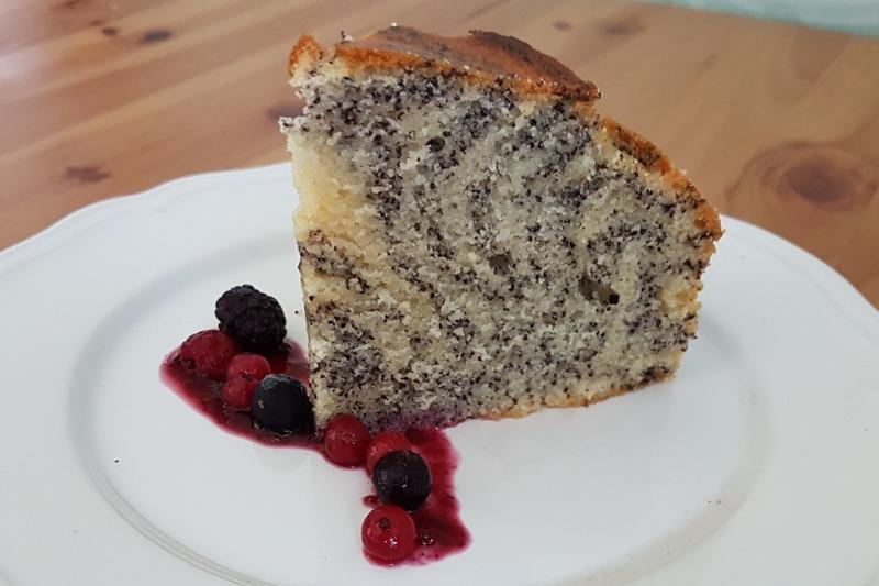 MAKOVÁ MRAMOROVÁ TORTA