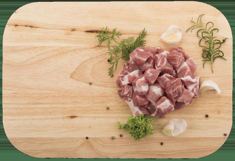 Bravčové mäso na guláš