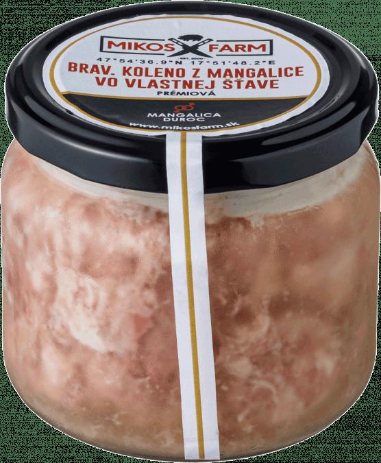 Bravčové koleno z mangalice vo vlastnej šťave / 300g
