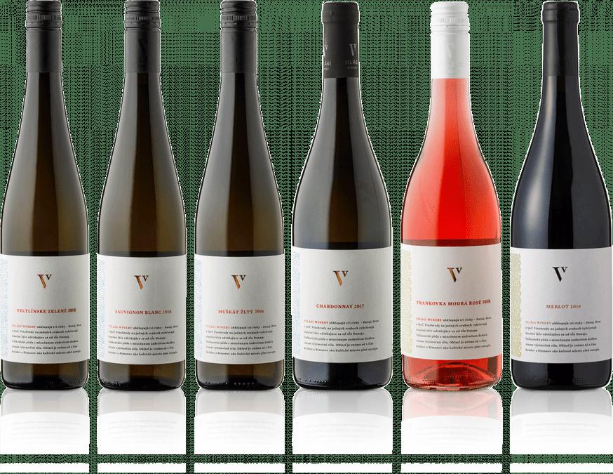 Degustačná sada vín Világi Winery / CLASSIC