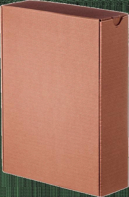 Darčeková krabica bez potlače / červená-veľká