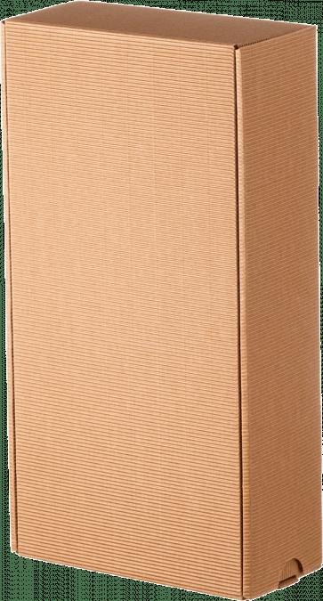 Darčeková krabica bez potlače / hnedá-malá