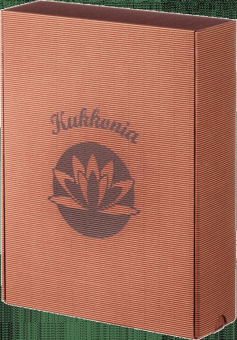 Ajándékdoboz Kukkonia logóval