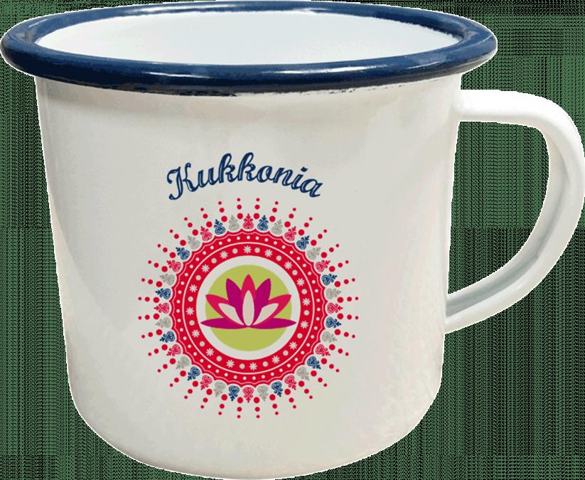 Hrnček s logom Kukkonia