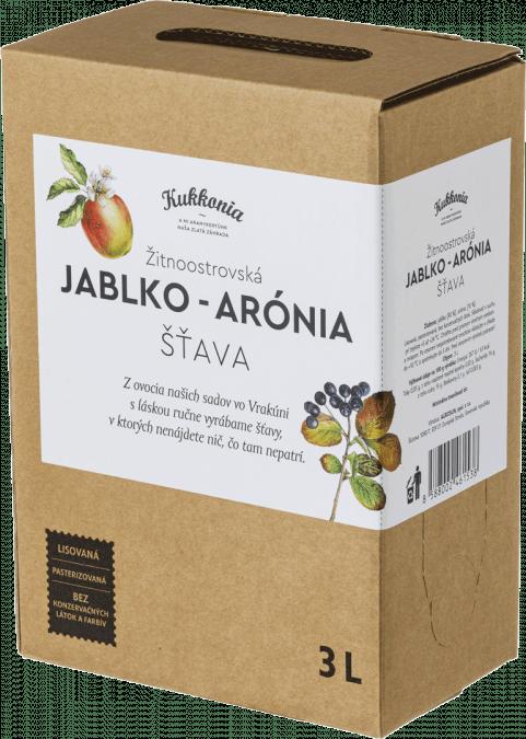 Jablko-arónia šťava 100% KUKKONIA / 3L
