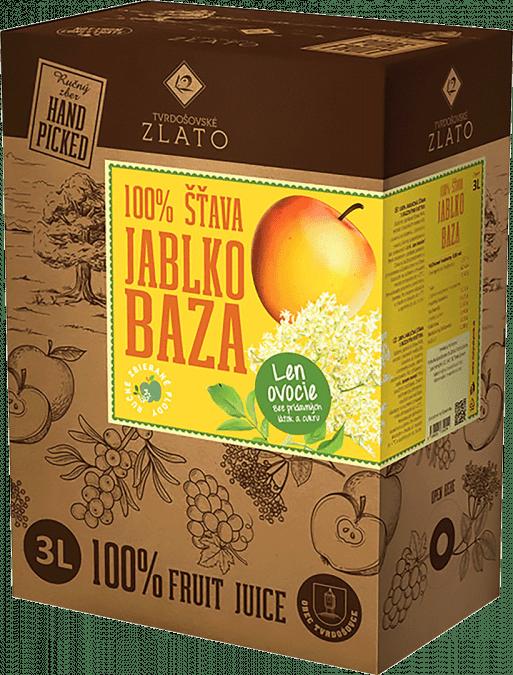 Jablko-bazová šťava 100% / 3l