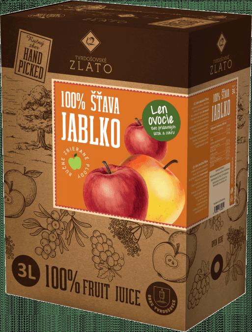 Jablková šťava 100% / 3 l