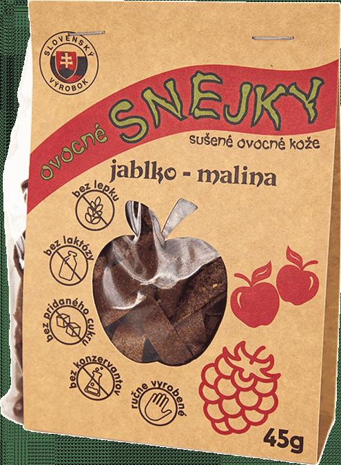 Ovocné SNEJKY - jablko-malina / 45g