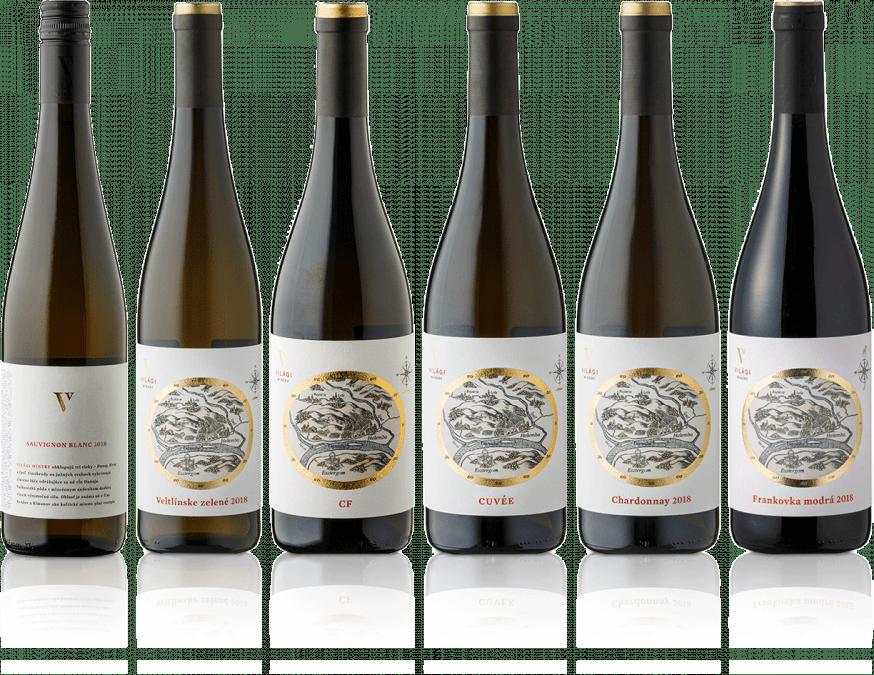 Degustačná sada vín Világi Winery / PREMIUM