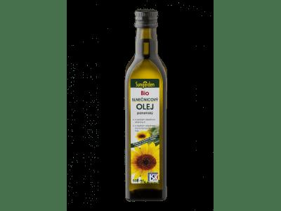 Sungarden szűz bio-napraforgóolaj, 500 ml