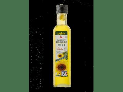 Fokhagymás bio-napraforgóolaj, 250 ml