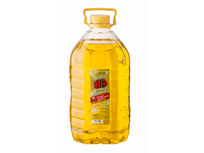 Sungarden szűz bio-napraforgóolaj sütéshez, 5 l