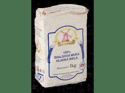 Špaldová múka hladká biela 1 kg