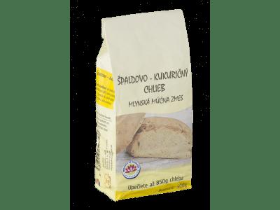 Múčná zmes, špaldovo-kukuričný chlieb 500 g