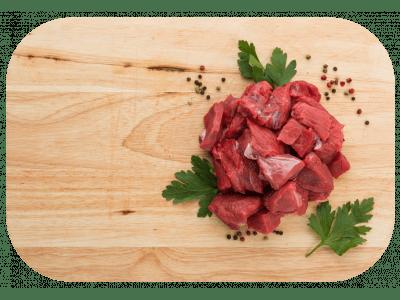 Hovädzie mäso na guláš