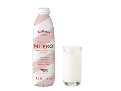 Kukkonia čerstvé mlieko plnotučné 3,5% ESL  / 1L
