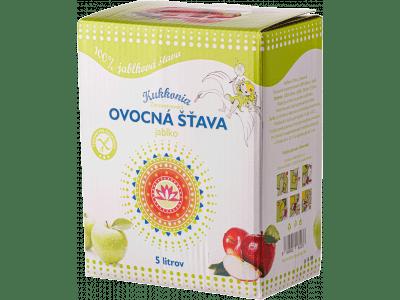 Jablková šťava 100 % KUKKONIA / 5 l