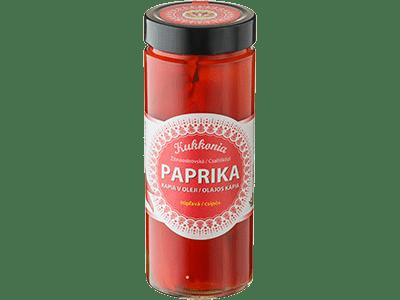 Paprika v oleji kápia - pálivá 600 g