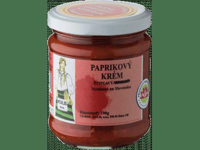 Paprikový krém štipľavý KULIS / 190 g