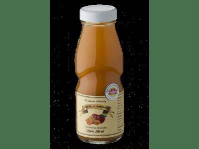 Čerstvá jablková šťava s rakytníkom 200 ml