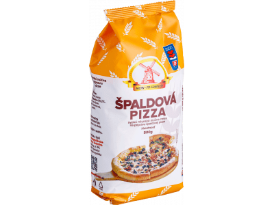 Múčna zmes, špaldová pizza / 0,5 kg