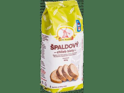 Múčna zmes, špaldový chlieb biely 0,5 kg