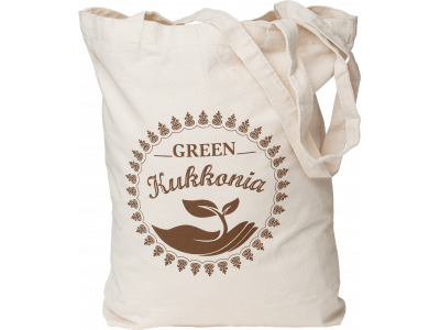 EKO taška Green Kukkonia / hnedá