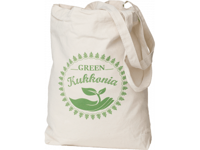 EKO taška Green Kukkonia / zelená