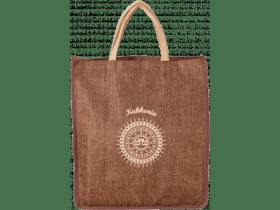 Juta táska Kukkonia logóval