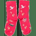Ponožky Kukkonia / červená